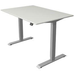 kerkmann Sitz-Steh-Schreibtisch Move 1, (B)1.200 mm, grau