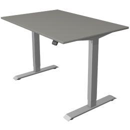kerkmann Sitz-Steh-Schreibtisch Move 1, (B)1.200 mm, graphit