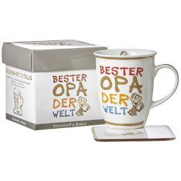 Ritzenhoff & Breker Kaffeebecher Bester Opa, 320 ml