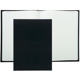 EXACOMPTA Kladde mit Leineneinband, 360 x 225 mm, 400 Seiten