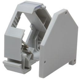 LogiLink Hutschienen-Adapter für 1 Keystone Modul, lichtgrau