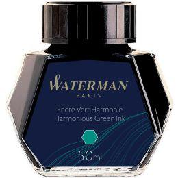 WATERMAN Tinte, grün, Inhalt: 50 ml im Glas