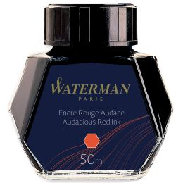 WATERMAN Tinte, rot, Inhalt: 50 ml im Glas
