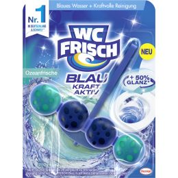 WC Frisch BLAU AKTIV WC-Reiniger/-Duftsp�ler Ozeanfrische