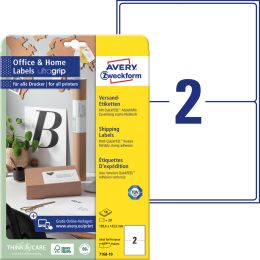 AVERY Zweckform Versand-Etiketten Home Office, 199,6x143,5mm