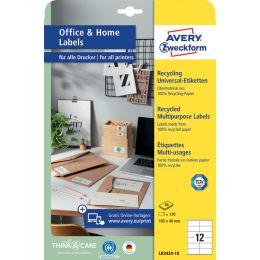 AVERY Zweckform Recycling-Universal-Etiketten Home Office