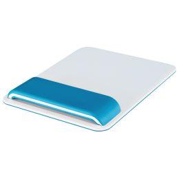 LEITZ Handgelenkauflage Ergo WOW mit Mauspad, weiß/blau
