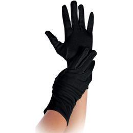 HYGOSTAR Baumwoll-Handschuh NERO, schwarz, S
