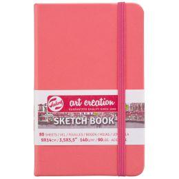 ROYAL TALENS Art Creation Skizzenbuch, 120 x 120 mm, rosa
