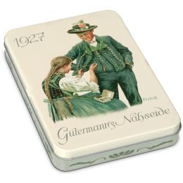 Gütermann Nähgarn in Nostalgie-Box Pastellfarben, 8 Spulen