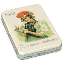 Gütermann Nähgarn in Nostalgie-Box Starke Farben, 8 Spulen