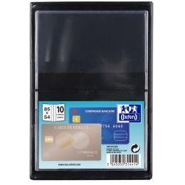 ELBA Ausweishülle, PVC, 1-fach, 0,12 mm, Format: 85 x 55 mm