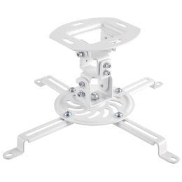 LogiLink Beamer-Deckenhalterung, Armlänge: 150 mm, weiß
