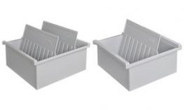 HAN Sichtreiter für Stützplatten, 35 mm breit, transparent