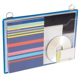 tarifold tview Broschürenmappe, DIN A4, Querformat, blau