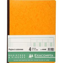 EXACOMPTA Spaltenbuch, 18 Spalten auf 2 Seiten, 33 Zeilen