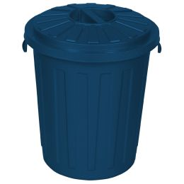 keeeper Abfalltone Maxi-Tonne mats eco, 23 Liter, blau