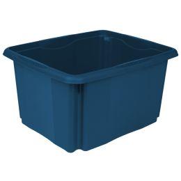 keeeper Aufbewahrungsbox emil eco, 24 Liter, blau