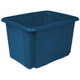 keeeper Aufbewahrungsbox emil eco, 30 Liter, blau