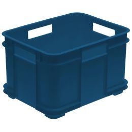 keeeper Aufbewahrungsbox Euro-Box M bruno eco, blau