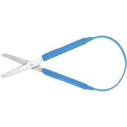 WESTCOTT Bastelschere, rund, Länge: 212 mm, blau