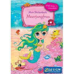 AVERY Zweckform Stickerspielbuch, DIN A5, Meerjungfrau
