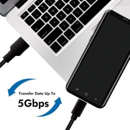 LogiLink USB 3.2 Kabel, USB-A - USB-C Stecker, 3,0 m, weiß