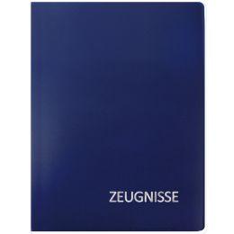 ROTH Zeugnismappe Basic, aus PP, DIN A4, blau