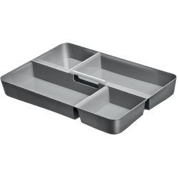keeeper Einsatz lisa für Clipbox lara/larissa, grau