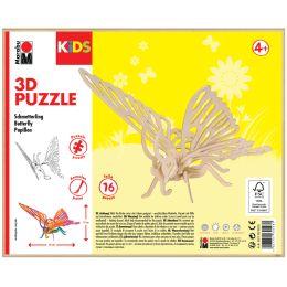 Marabu KiDS 3D Puzzle Schmetterling, 16 Teile