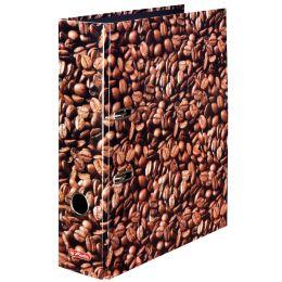 herlitz Motivordner maX.file Kaffee, A4, Rückenbr: 80 mm