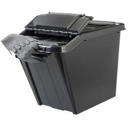 plast team Aufbewahrungsbox PROBOX SLANTED, 58 Liter