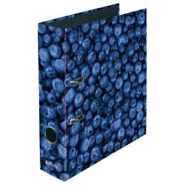 herlitz Motivordner maX.file Blaubeere, A4, Rückenbr: 80 mm