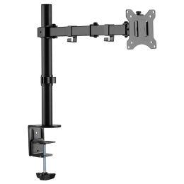 LogiLink TFT-/LCD-Monitorarm, Armlänge: 390 mm, schwarz