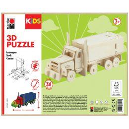 Marabu KiDS 3D Puzzle Truck / Lastwagen, 38 Teile