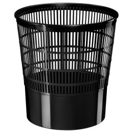 CEP Papierkorb Basic, 16 Liter, schwarz