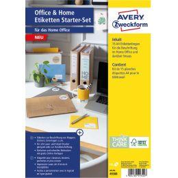 AVERY Zweckform Etiketten Starter-Set Office & Home