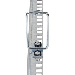 LogiLink Kabelführungsbügel-Set, Stahl, 40 x 80 mm, verzinkt