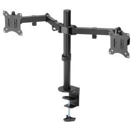 DIGITUS Universal Dual Monitorhalter mit Klemmbefestigung