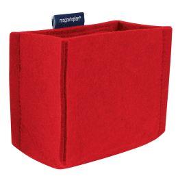 magnetoplan Stifteköcher magnetoTray, medium, rot