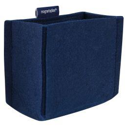 magnetoplan Stifteköcher magnetoTray, medium, blau