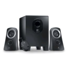 Logitech 2.1 Lautsprecher System Z313, schwarz