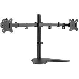 DIGITUS Universal Dual Monitor Ständer, schwarz