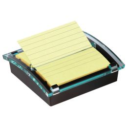 Post-it Z-Notes Spender, schwarz/transparent, inkl. 1 Block