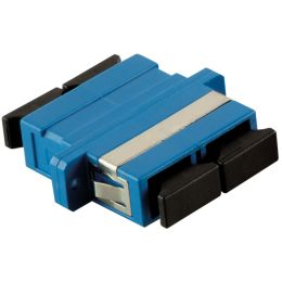 LogiLink LWL Kupplung, 2 x SC-Duplex, Singlemode, blau
