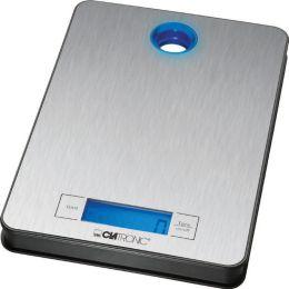 CLATRONIC Küchenwaage KW 3412, Tragkraft, 5 kg, edelstahl