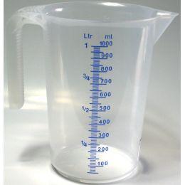 IWH Messbecher, transparent, Inhalt: 1 Liter
