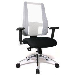 Topstar Bürodrehstuhl Lady Sitness Deluxe, schwarz/weiß