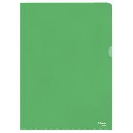 Esselte Sichthüllen Standard, DIN A4, PP, grün, 0,12 mm