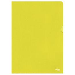 Esselte Sichthüllen Standard, DIN A4, PP, gelb, 0,12 mm